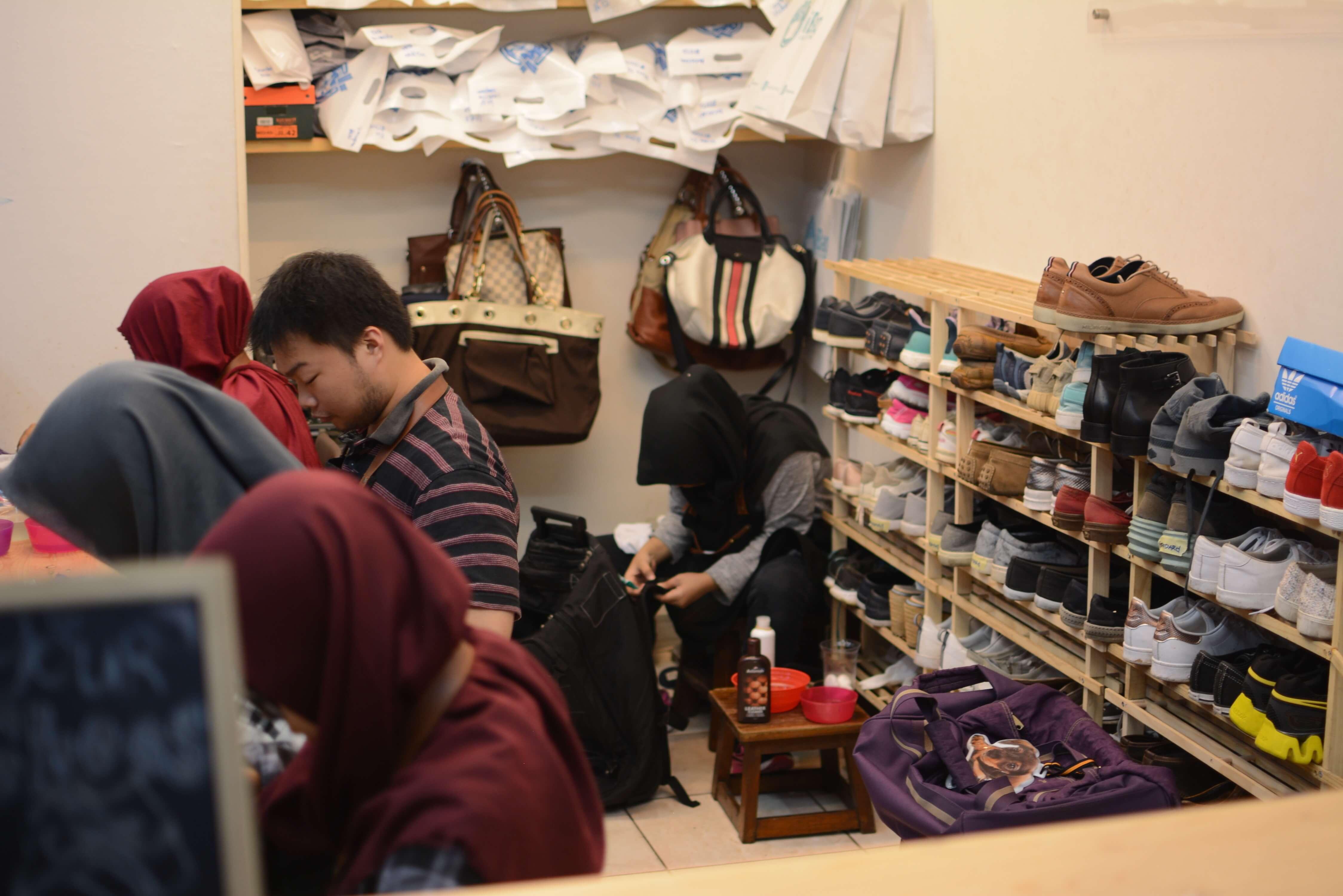 iShoe Laundry Workshop